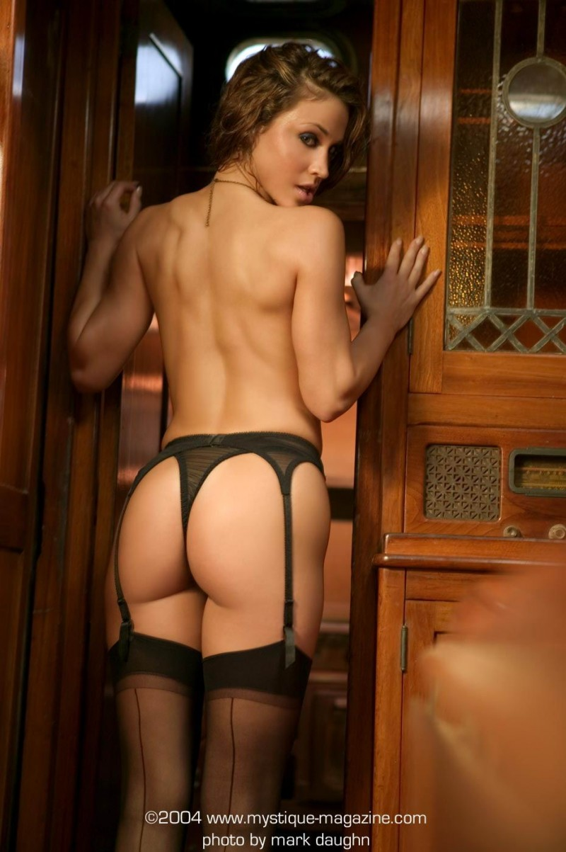 Rebecca Dipietro in stockings and garters garters Rebecca Dipietro stockings