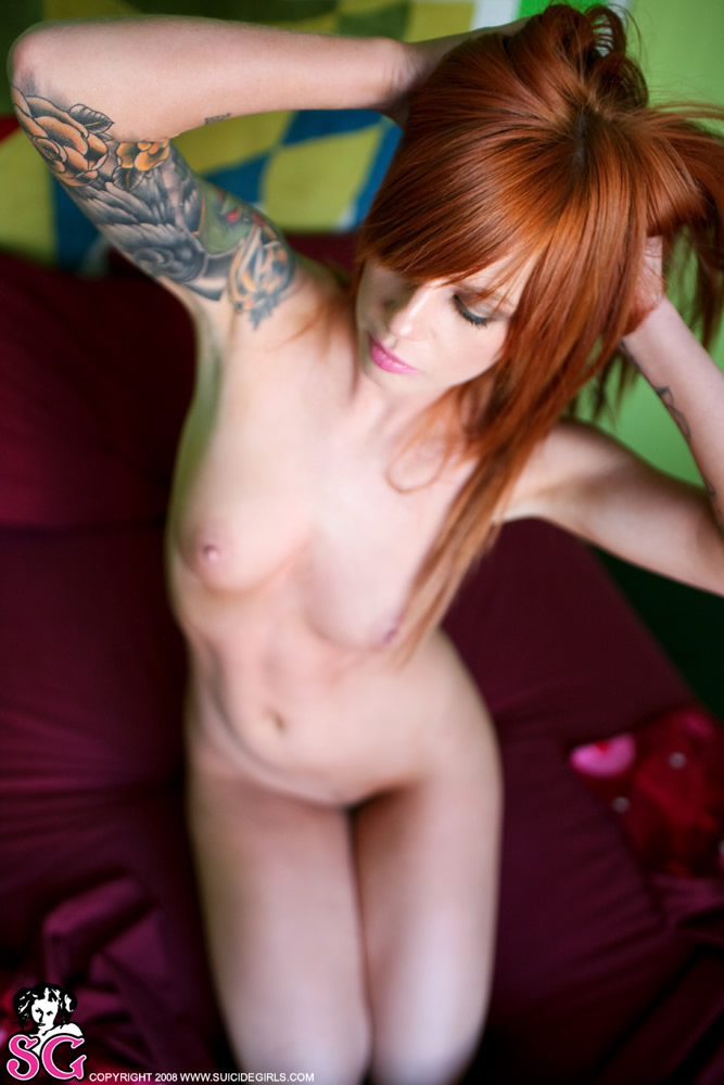 Vice - redhead from suicide girls redhead suicide girls tattoo