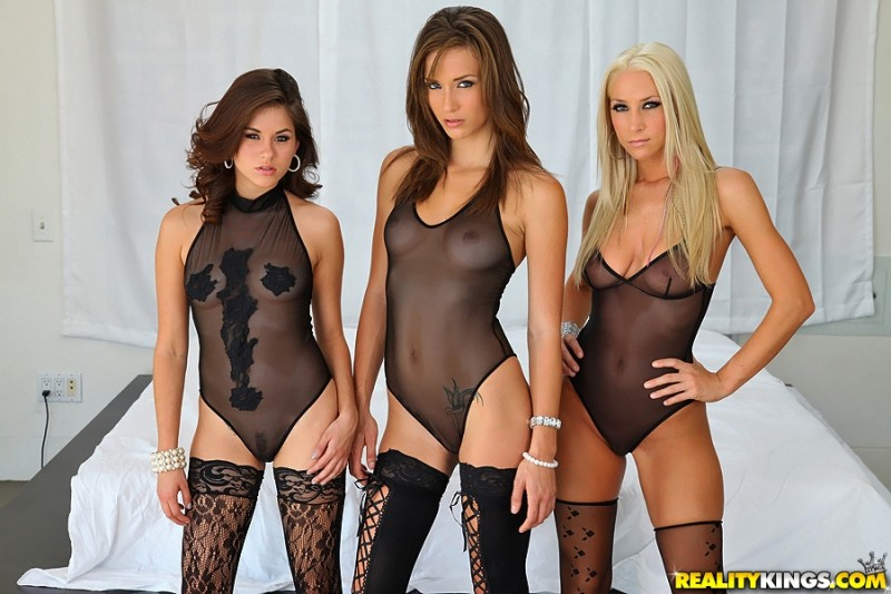 Malena Morgan, Shyla Jennings and Sammie Rhodes