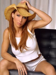 Jennifer korbin in cowboy hat