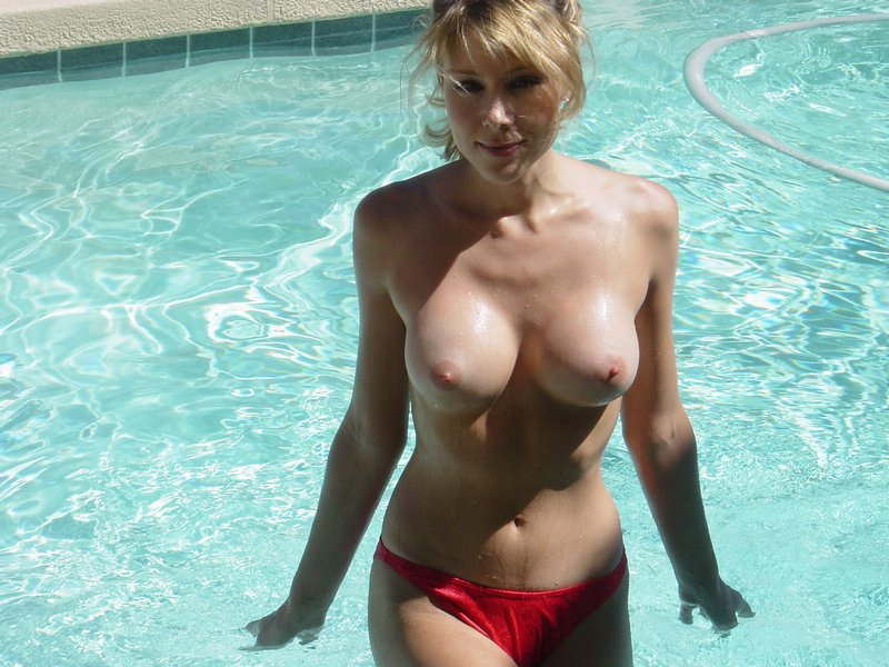 Girls at the pool bikini blonde brunette compilation pool