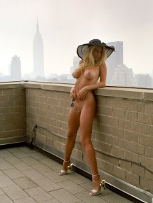 Camille Grammer in playboy