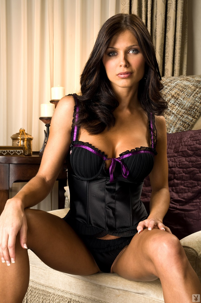 Lynda Redwine in hot lingerie