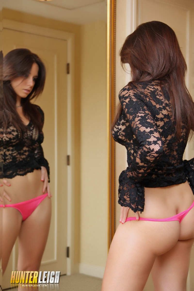 Hunter Leigh in the mirror