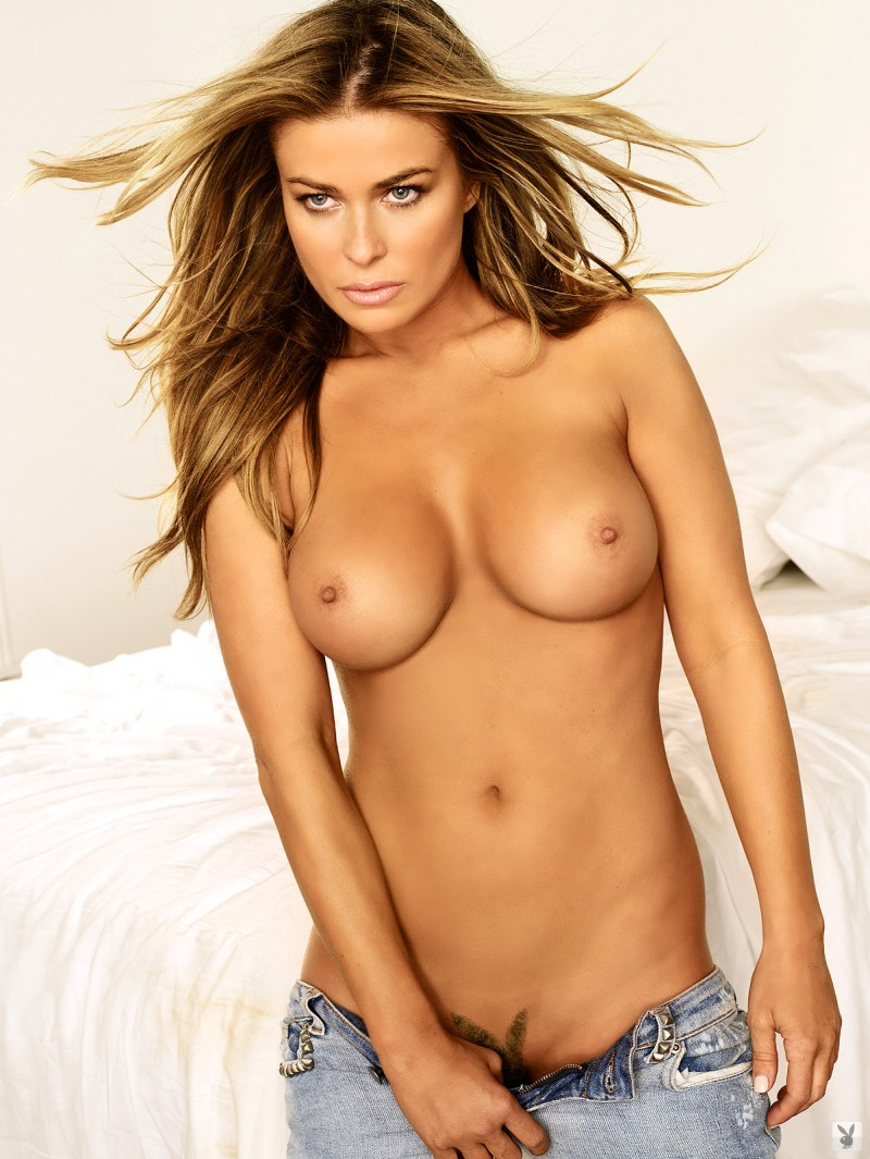 Carmen Electra in playboy