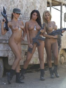 Jaclyn Swedberg, Daisy Sanchez and Logann Brooke