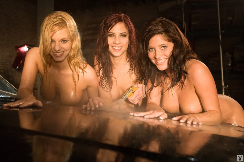 Cassie Keller, Kat Kohls and Amanda Leggett – Carwash
