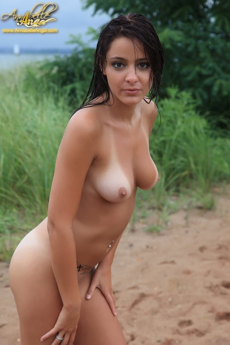 Annabelle Angel by the lake