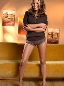 Nicole Graves in penthouse