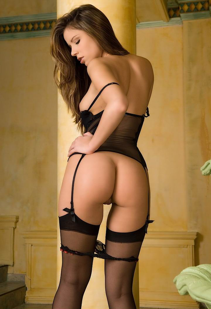 Girls in stockings