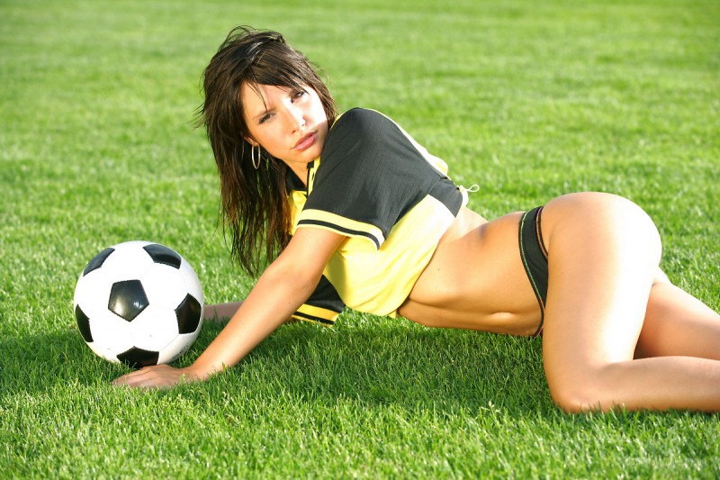 Monika Vesela - soccer girl