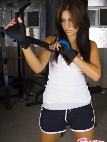 Raven Riley like a boxer