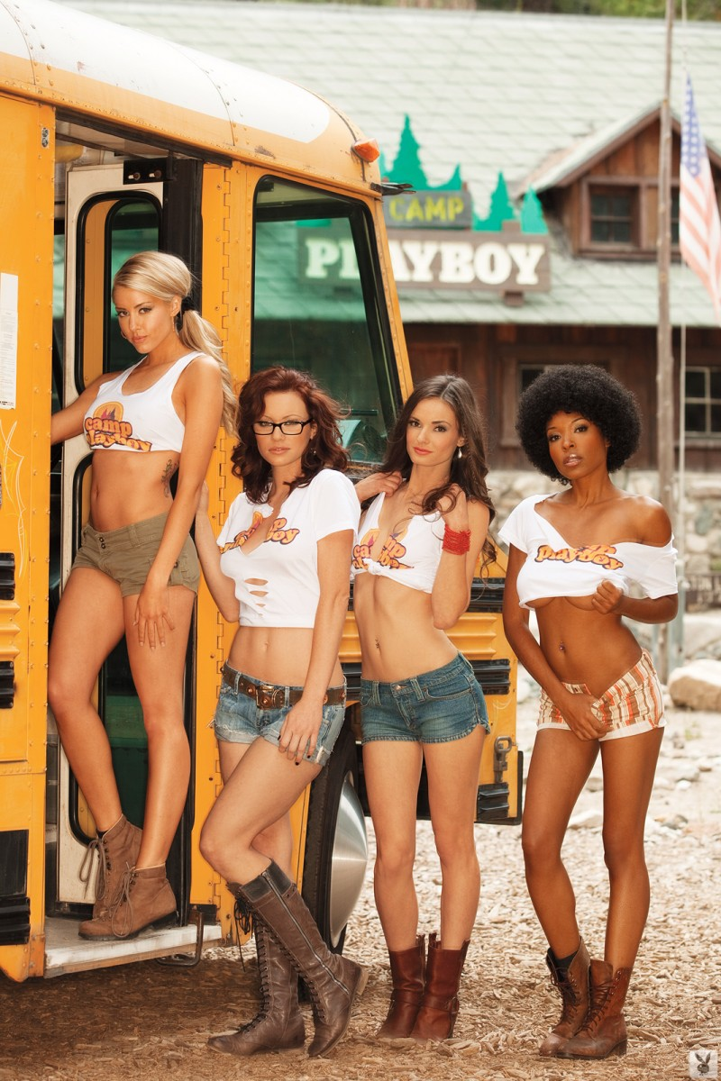 Camp Playboy group Heather Rae Young Kassie Lyn Logsdon kimberly phillips Patrice Hollis playboy