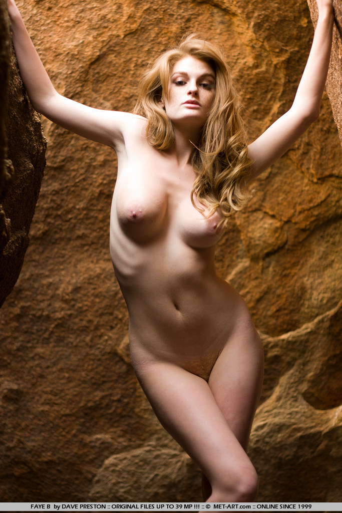 Faye Reagan on the rocks big tits faye reagan nude redhead