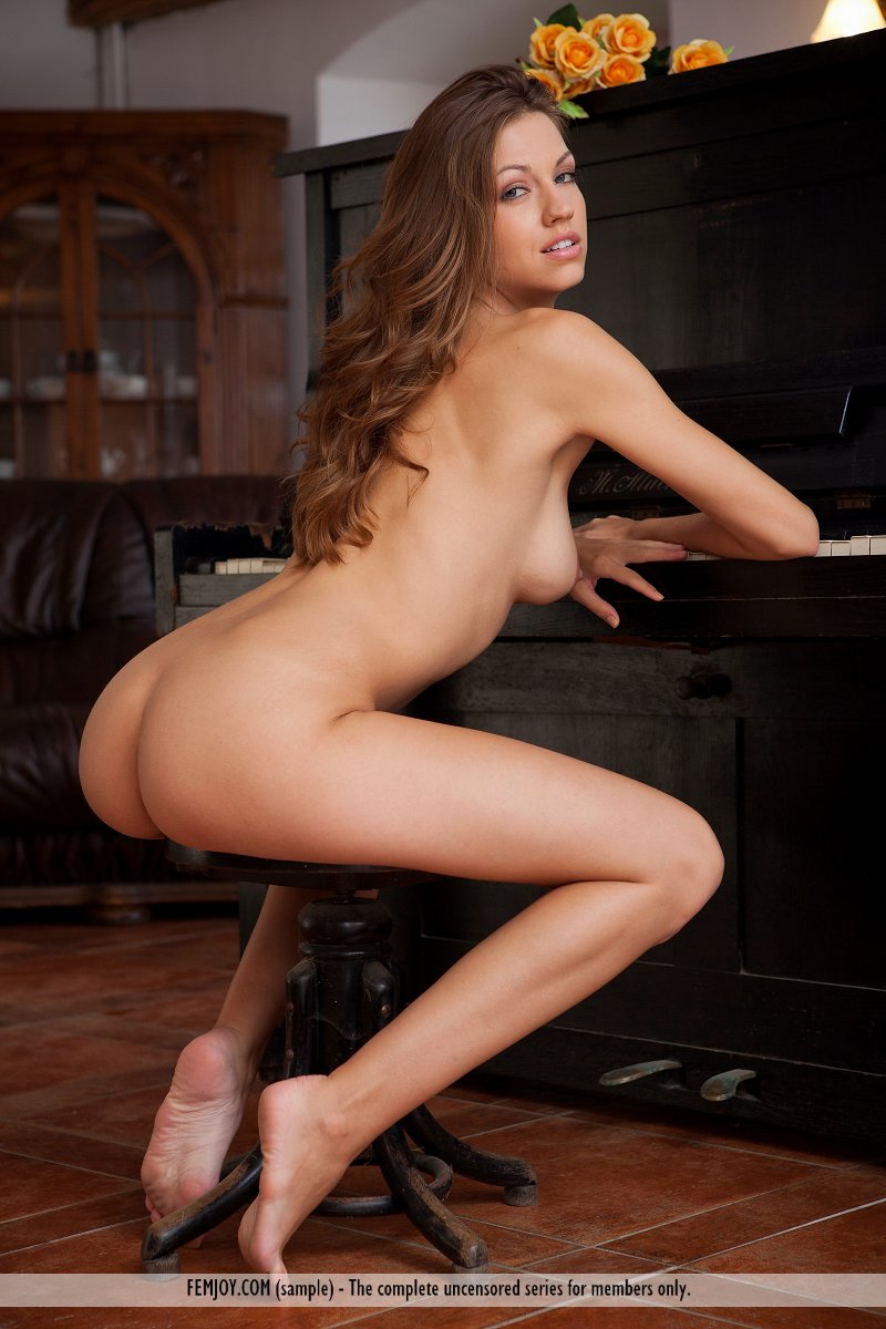Lenka – The piano brunette lenka nude skinny small tits