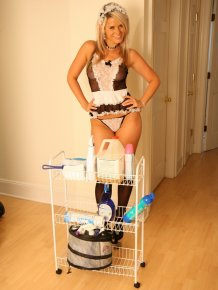 Ann Angel as a Housemaid
