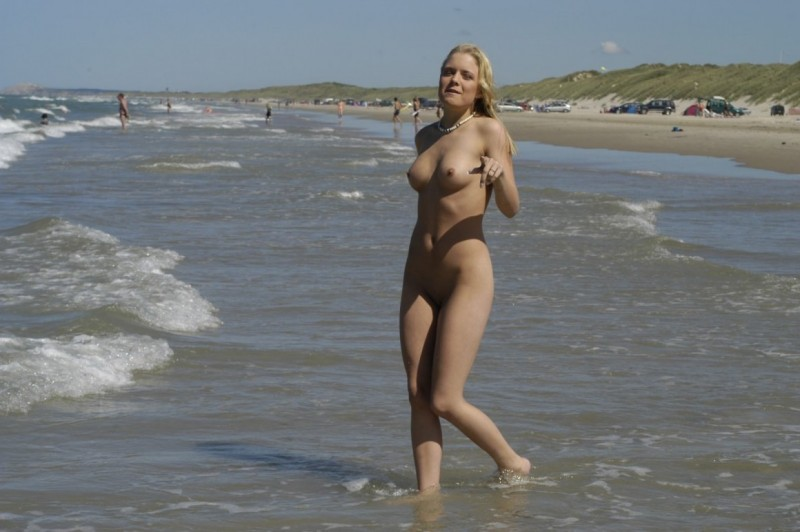 Danish nudist girl amateur beach Beach & Bikini blonde nude Nude in Public public seaside