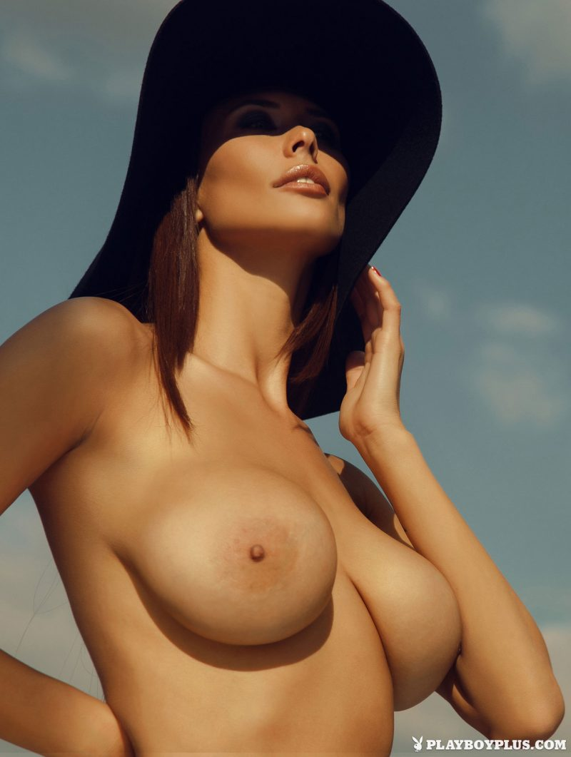 Bilyana Evgenieva – Busty Bulgarian bilyana evgenieva boobs bulgarian hat high heels playboy sunglasses Super Chicks tits