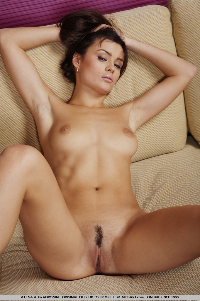 Atena naked on the sofa atena a couch Pretty Ladies