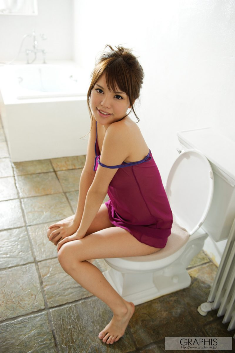 Coco Aiba in bathroom asian asians bathroom coco aiba