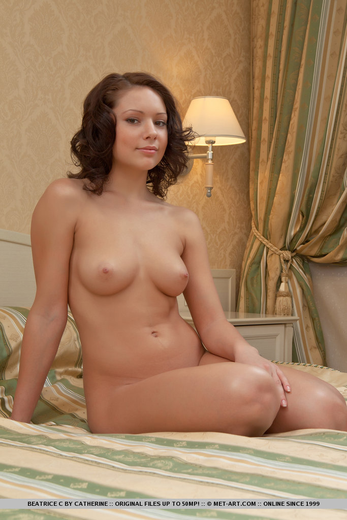 Beatrice naked on bed beatrice c bedroom Pretty Ladies