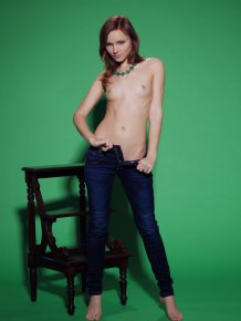 Cathleen in jeans