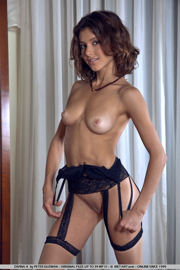 Divina – Stockings & garters Divina fetish fit girls garters stockings