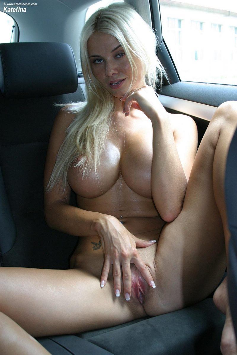 Kathy Lee in the back seat Automotive big boobs blonde boobs cars Caylian Curtis Katerina Stankova Kathy Lee