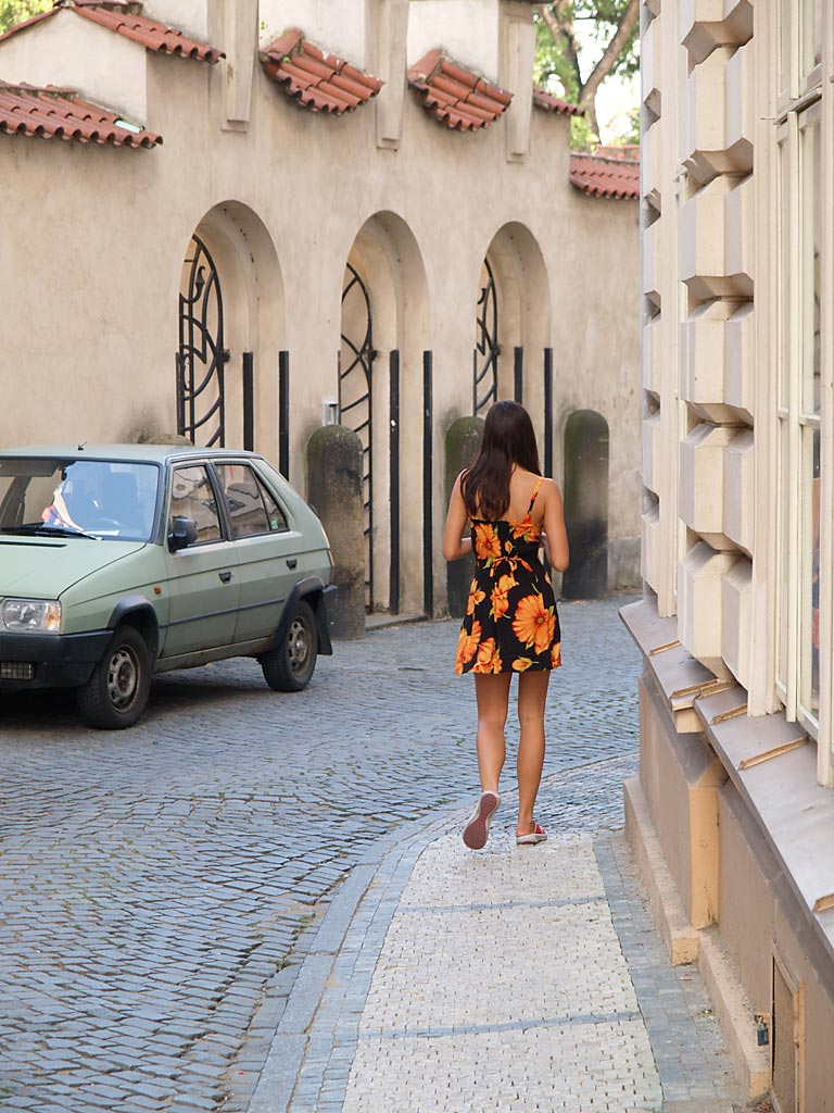 Jirina – Naked tourist girl vol.2