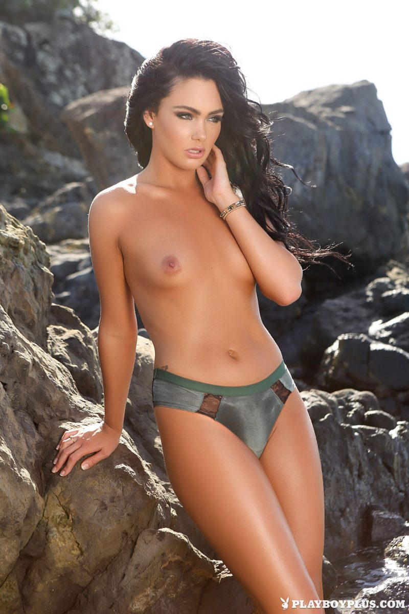 Kristie Taylor by the seaside bikini brunette kristie taylor playboy seaside small tits Super Chicks