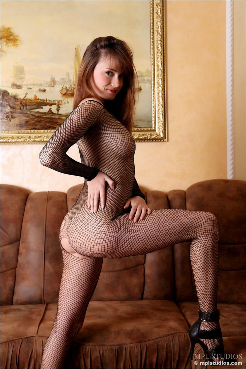 Julia in bodystocking