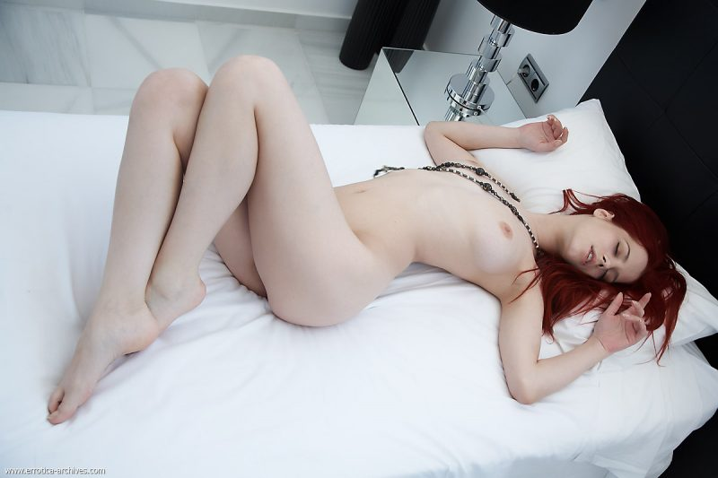 Ariel in bedroom Ariel bedroom gabrielle lupin piper fawn Pretty Ladies redhead