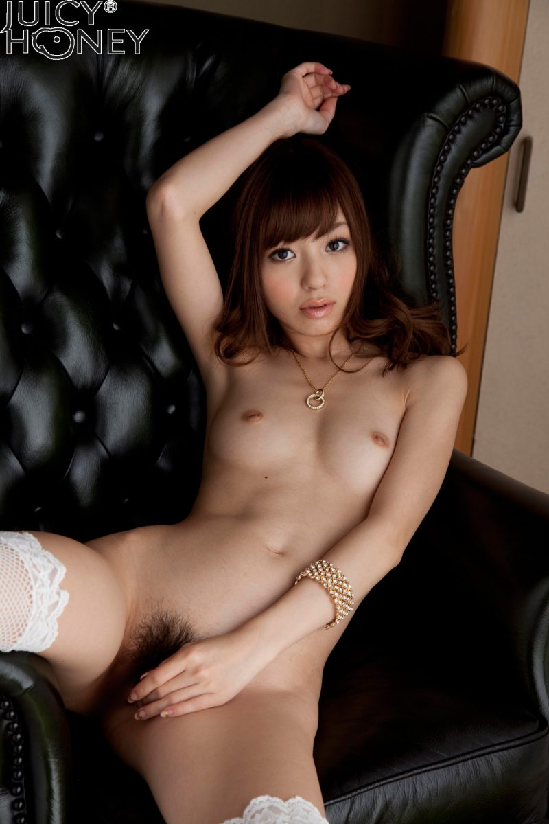Aino Kishi in white fishnet stockings aino kishi asian asians stockings