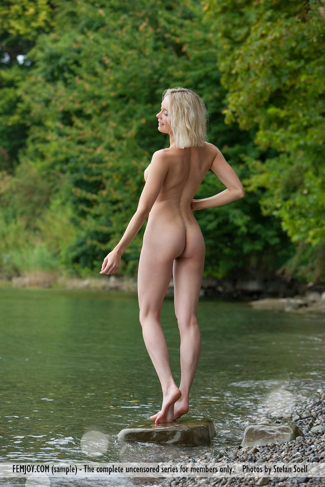Katy Cee by the river