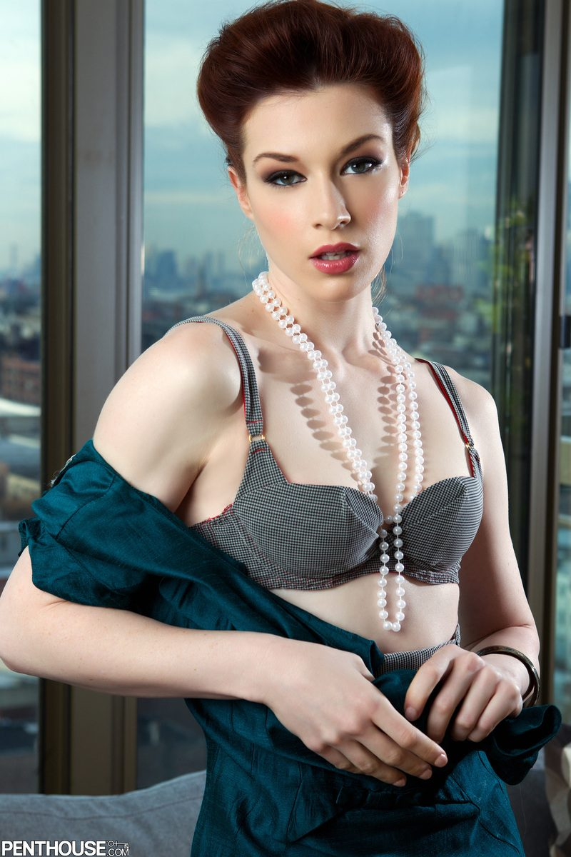 Stoya in stockings