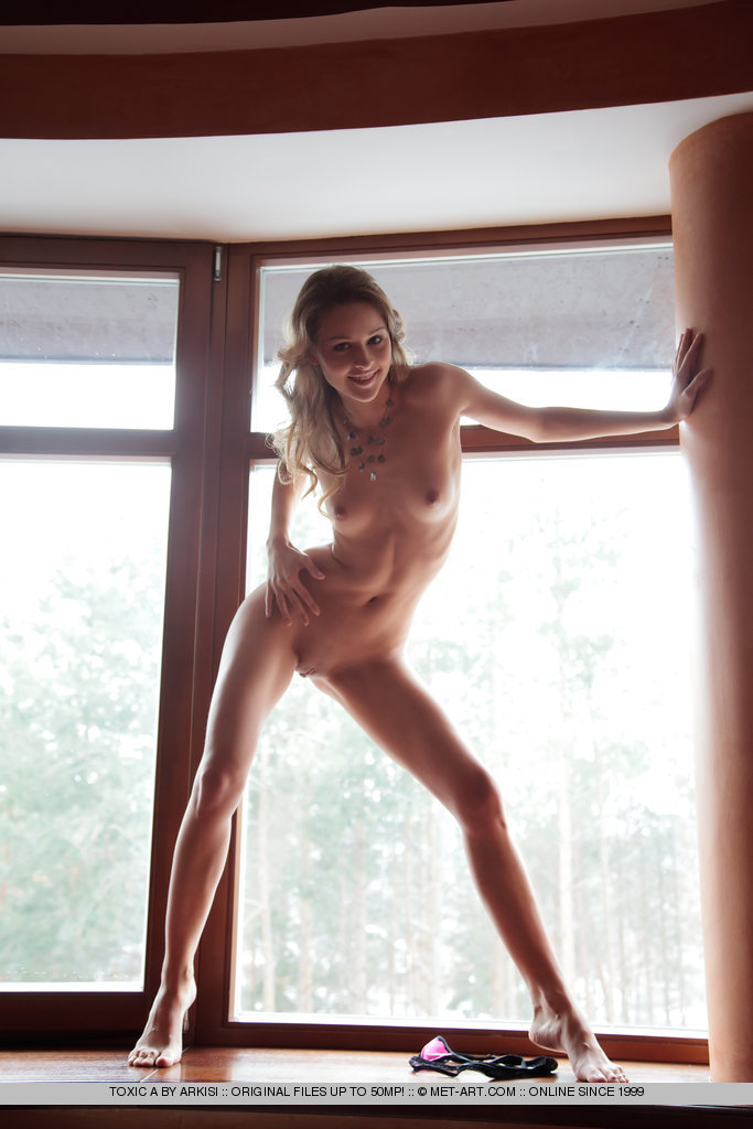 Toksik nude on windowsill small tits toksik Toxic window Young girls