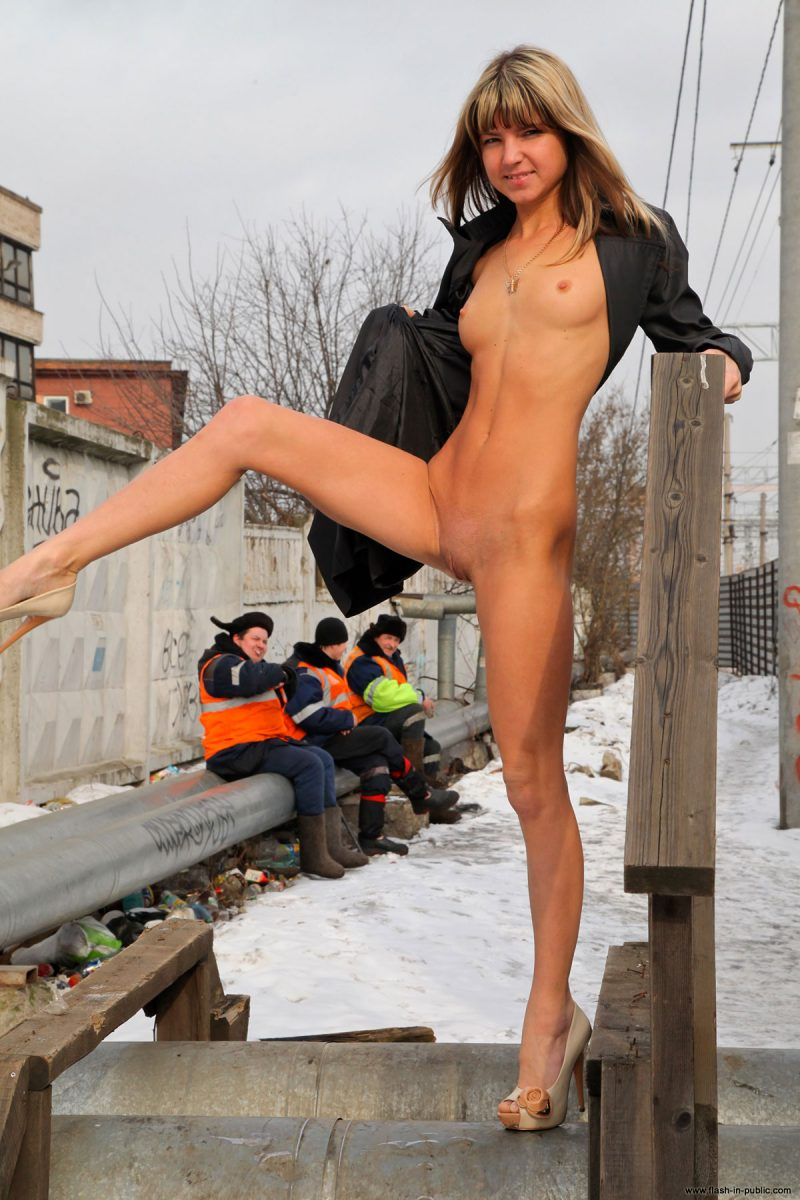 Gina Gerson – Railway siding gina gerson nude Nude in Public public