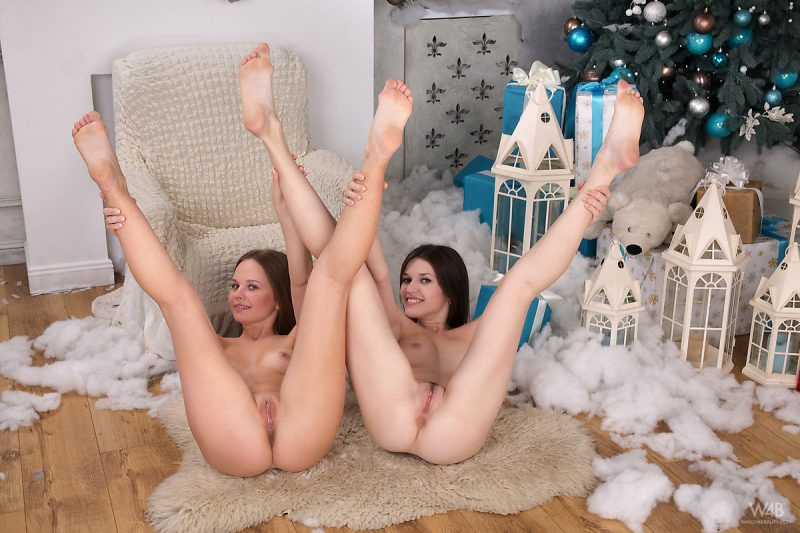 Serena Wood & Ananke – Together for Christmas ananke Christmas Lesbian mia t serena wood xmas
