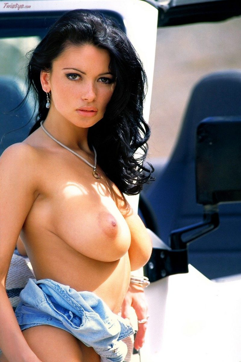 Veronica Zemanova & Jeep Wrangler Automotive big boobs boobs cars jeep tits veronica zemanova