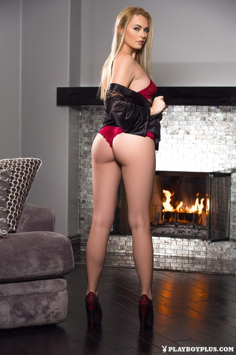 Bailey Rayne – Evening by the fireplace
