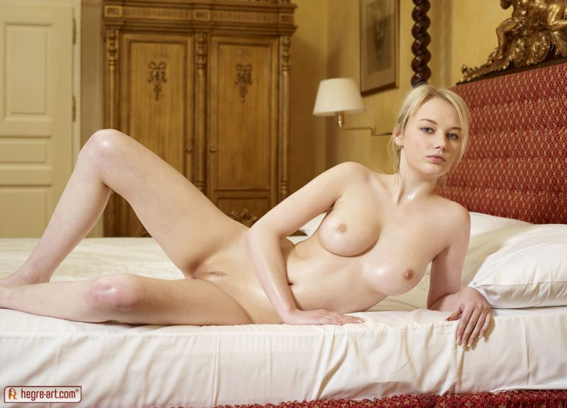 Whitney in bedroom