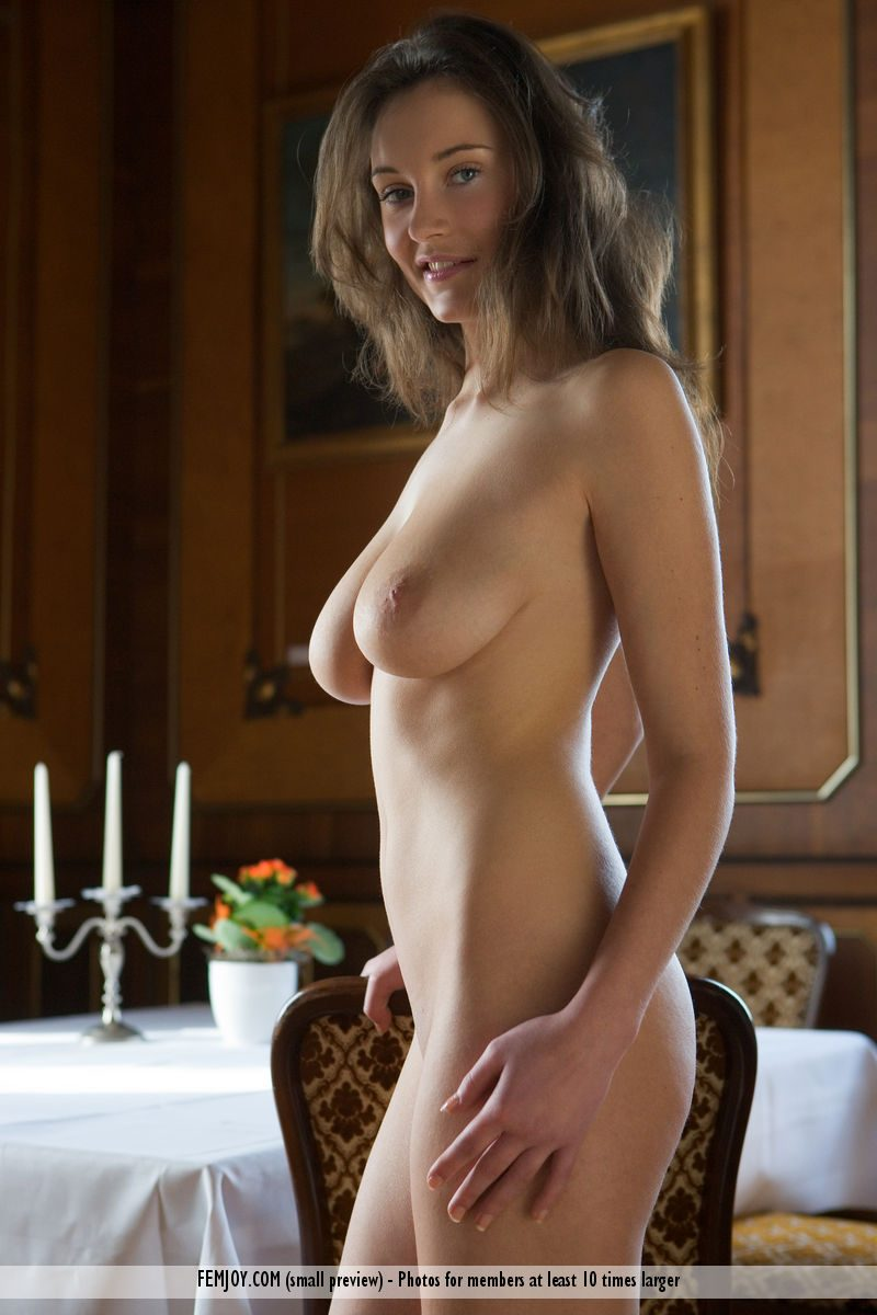 Ashley Spring nude on the table ashley spring big boobs boobs table tits