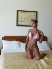 Perfect body girl on vacation