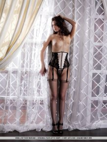 Lidija – Corset & stockings