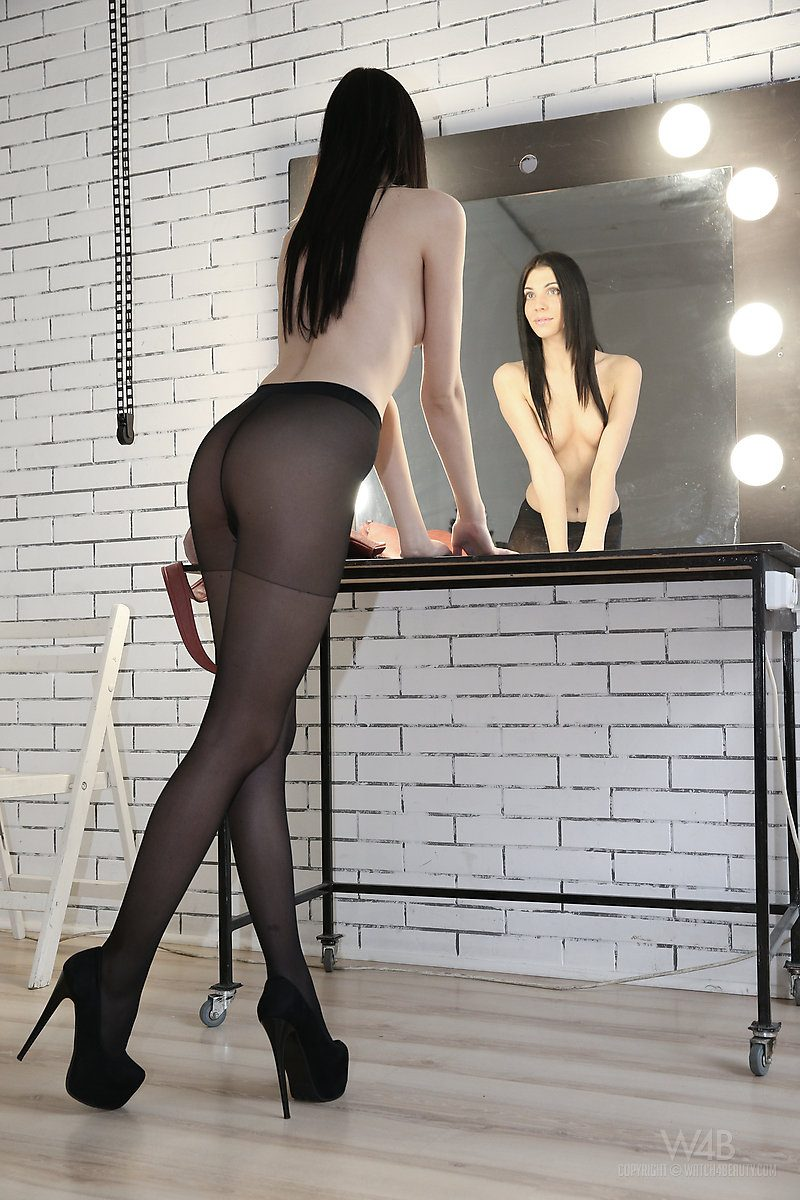 Amy Light in pantyhose