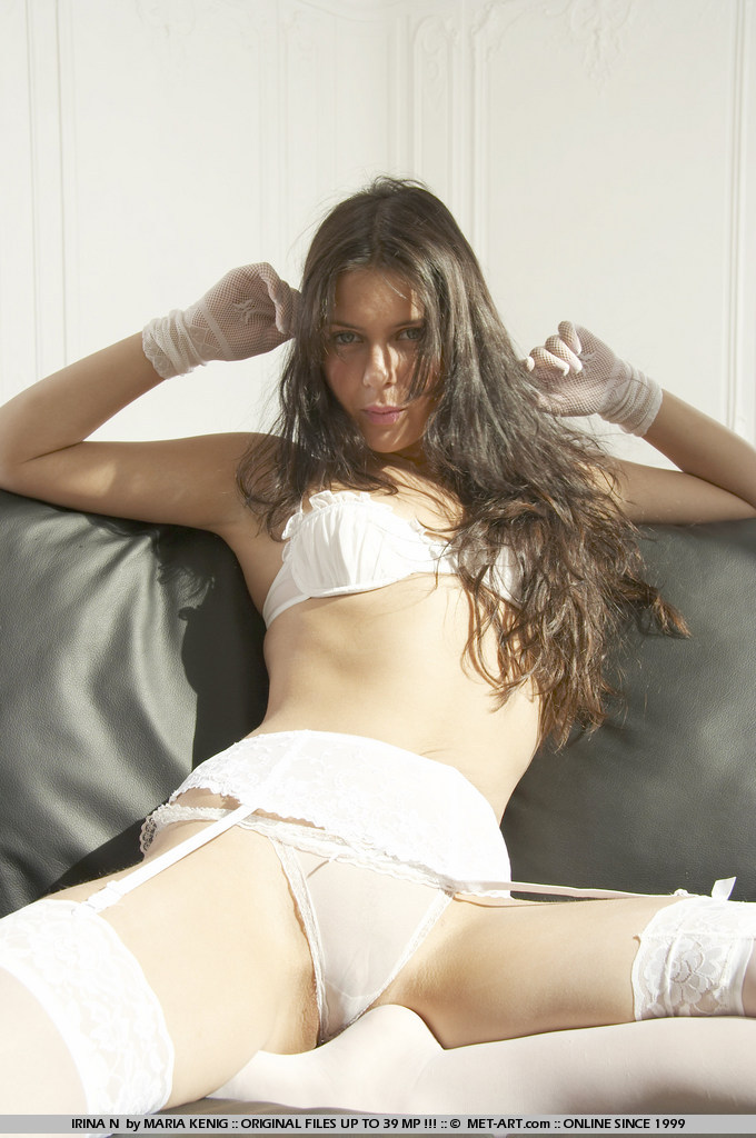 Cofi Milan in white stockings