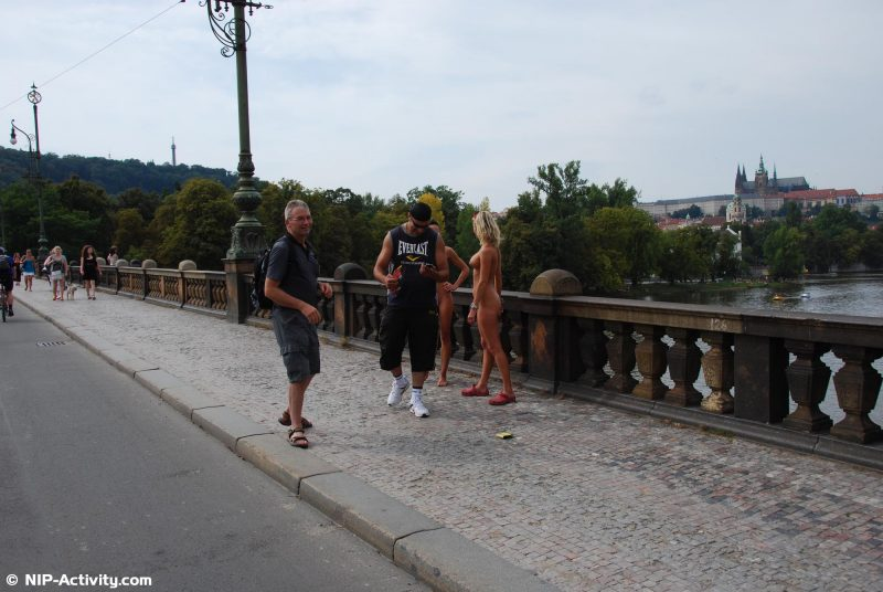 Leonelle & Laura – Prague city tour vol.2 laura leonelle nude Nude in Public prague public