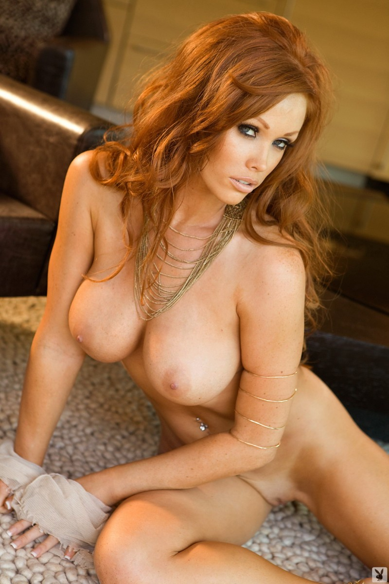 Christine Smith big tits Christine Smith playboy redhead