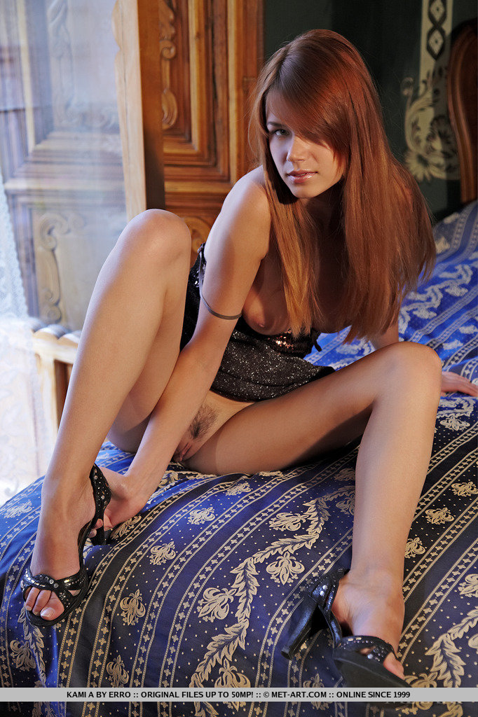 Kamila – Dress with sequins kami Kamila Hermanova Pretty Ladies redhead