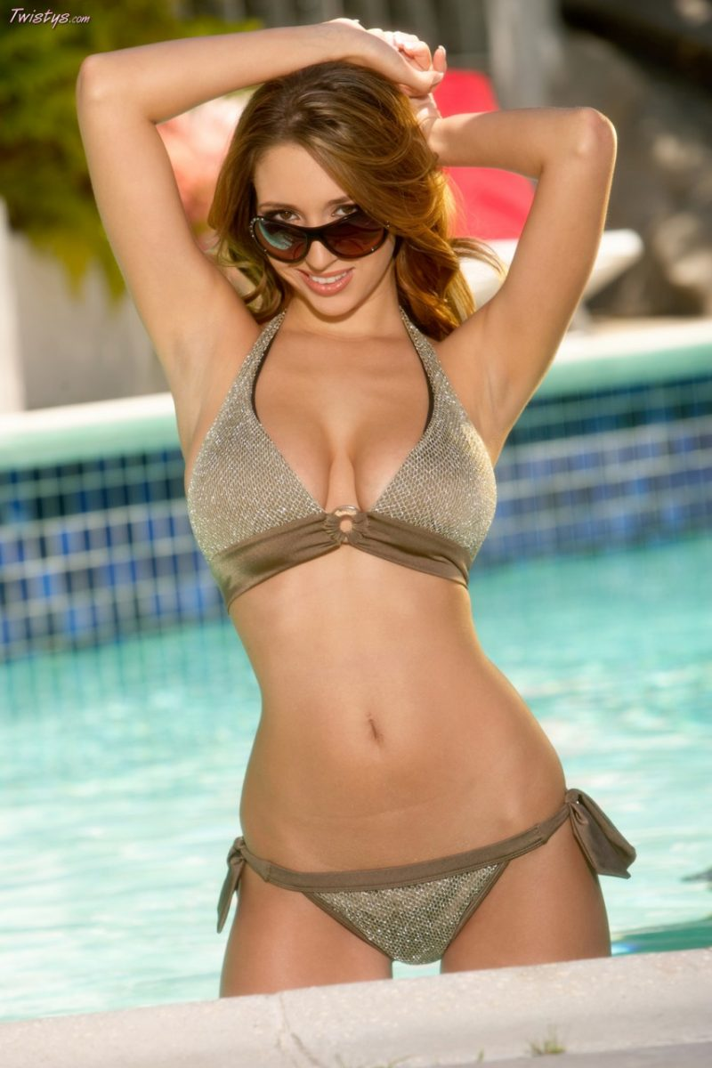 Shay Laren by the pool